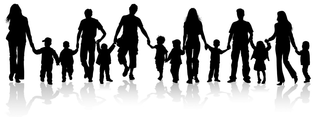 Family Holding Hands Clipart 12